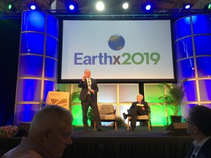 William Parker opens the banquet at EarthX 2019 in Dallas