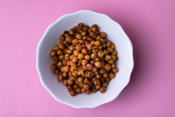 Der Protein Snack – geröstete Kichererbsen in vier Variationen