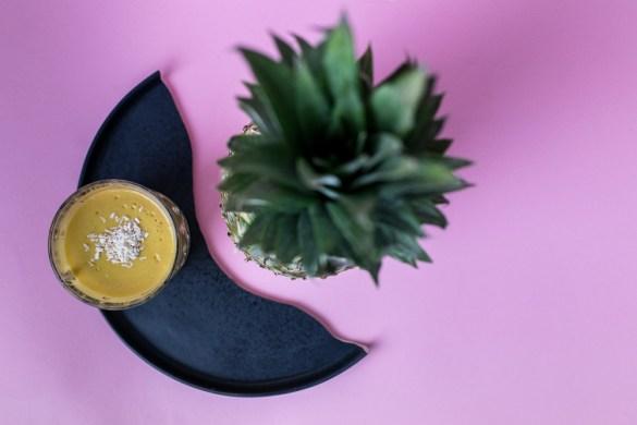Golden Mango-Kurkuma Lassi