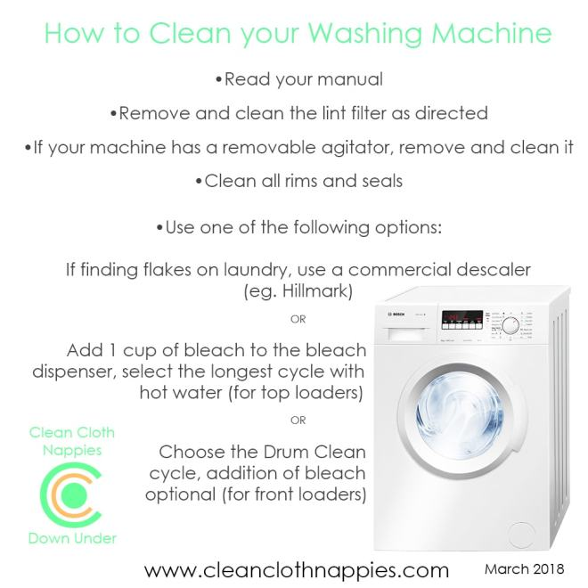 How to clean your machine