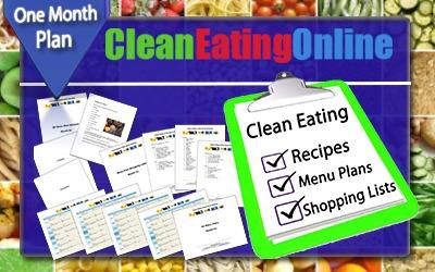 Clean Eating Menu Plans