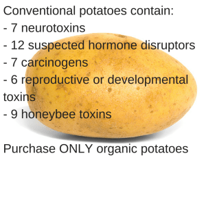 conventional potatoes