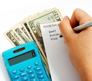Making The Monthly Calculation For Household Expenses