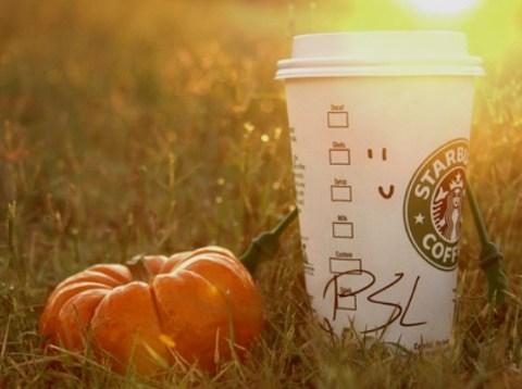 Starbucks Pumpkin Spice Latte now has pumpkin