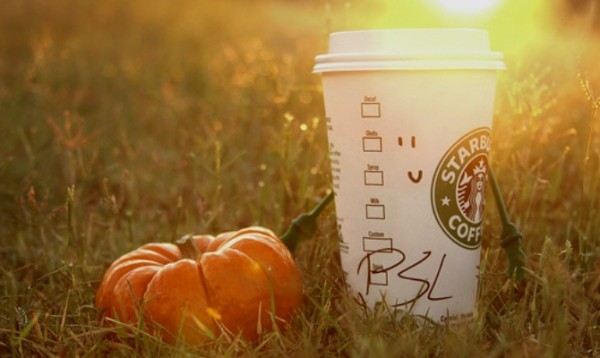 Starbucks Pumpkin Spice Latte now has pumpkin