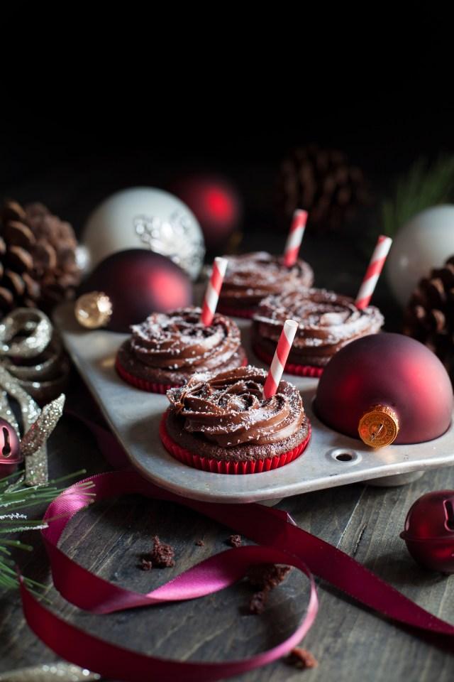 Peppermint Mocha Cupcakes 2