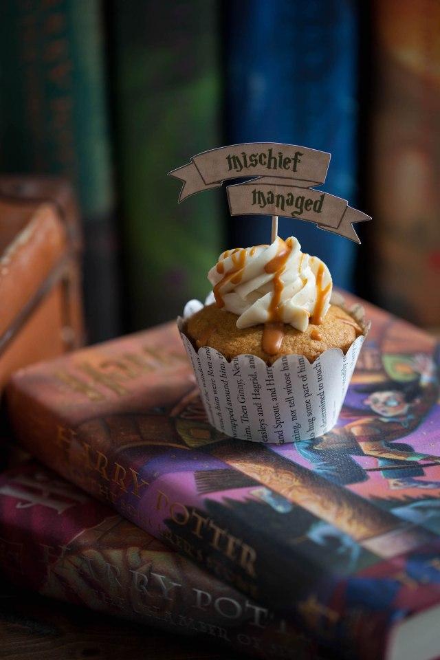 Butterbeer Cupcakes