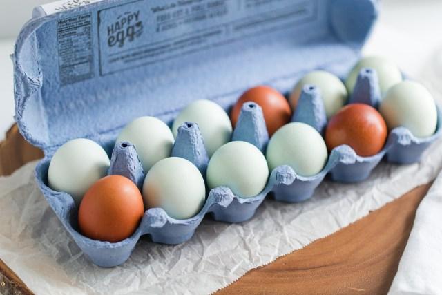 Happy Eggs Heritage Eggs