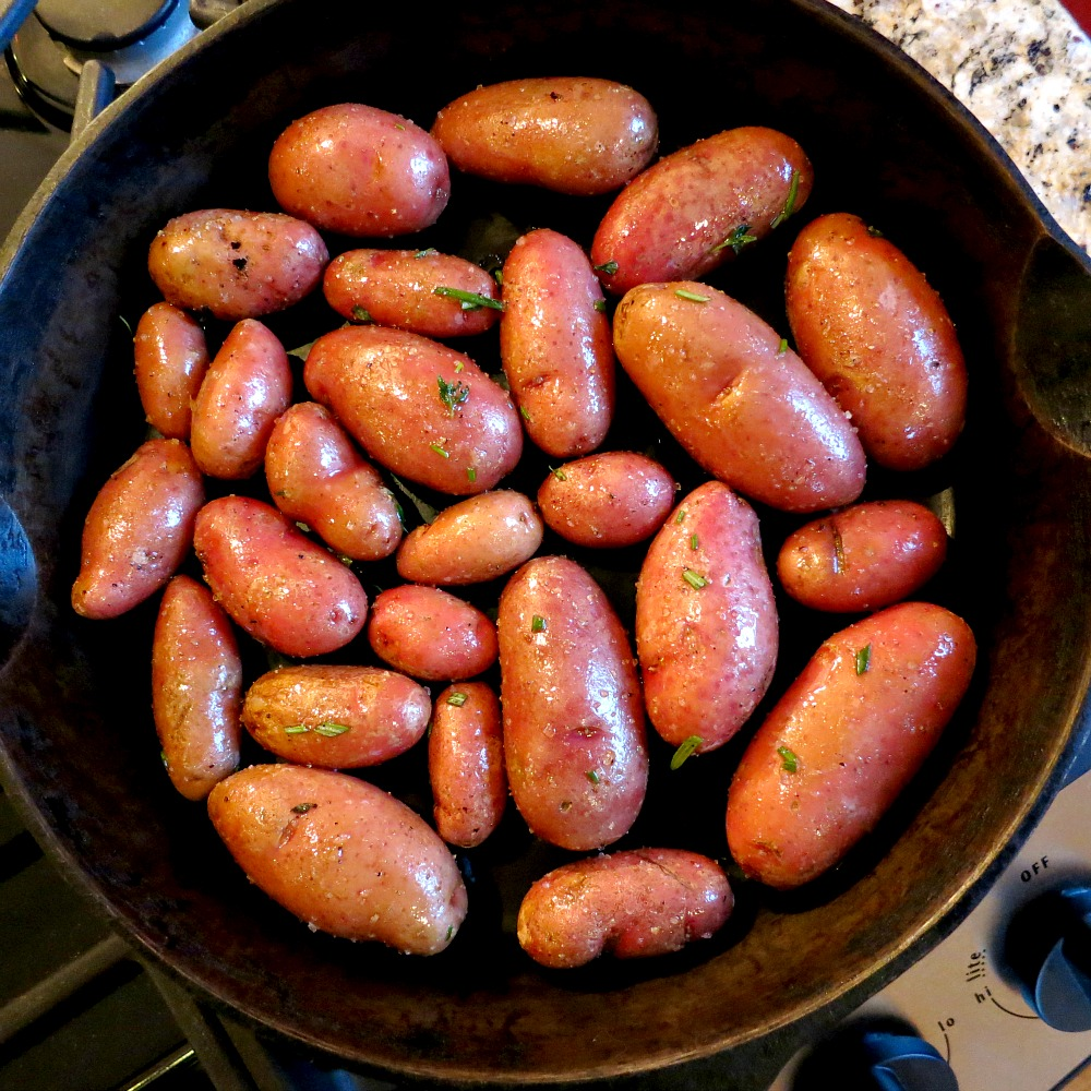 Red Fingerling Potatoes
