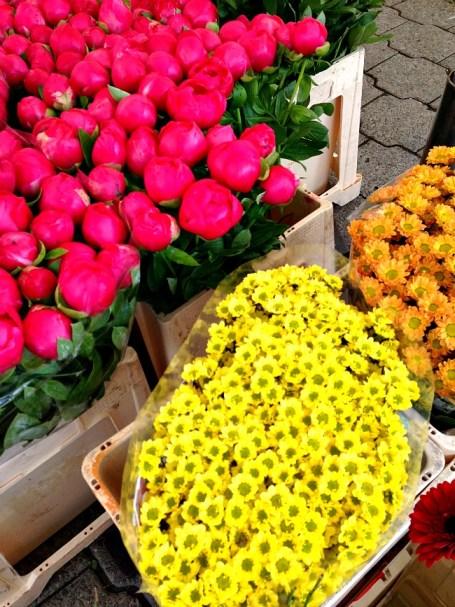 Belgium Farmers Market Flowers