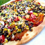 Southwestern Pizza with Corn & Black Beans