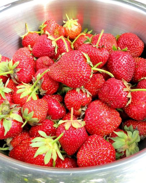 Breakfast Strawberries