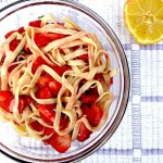 Strawberry Lemon Pasta