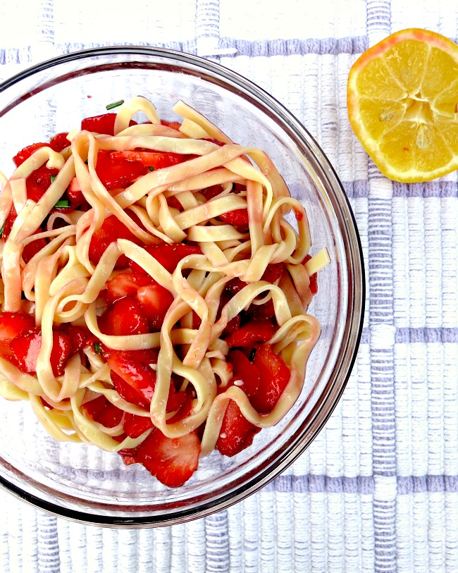 Strawberry Pasta Mixed