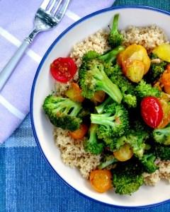 Broccoli Tomato Stir Fry