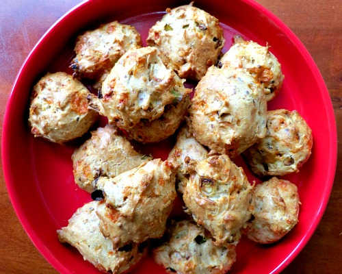 Green Onion and Cheddar Biscuits Take Two