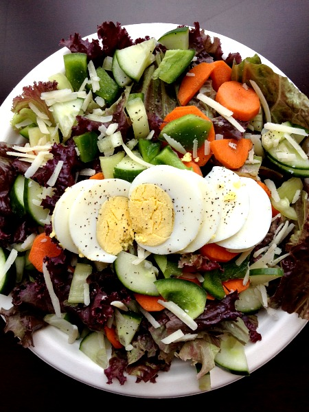 Lunch time Salad