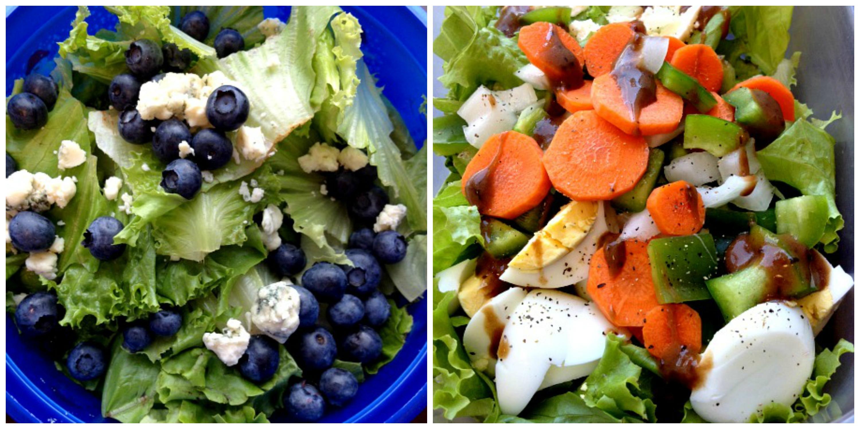 More Salads Collage