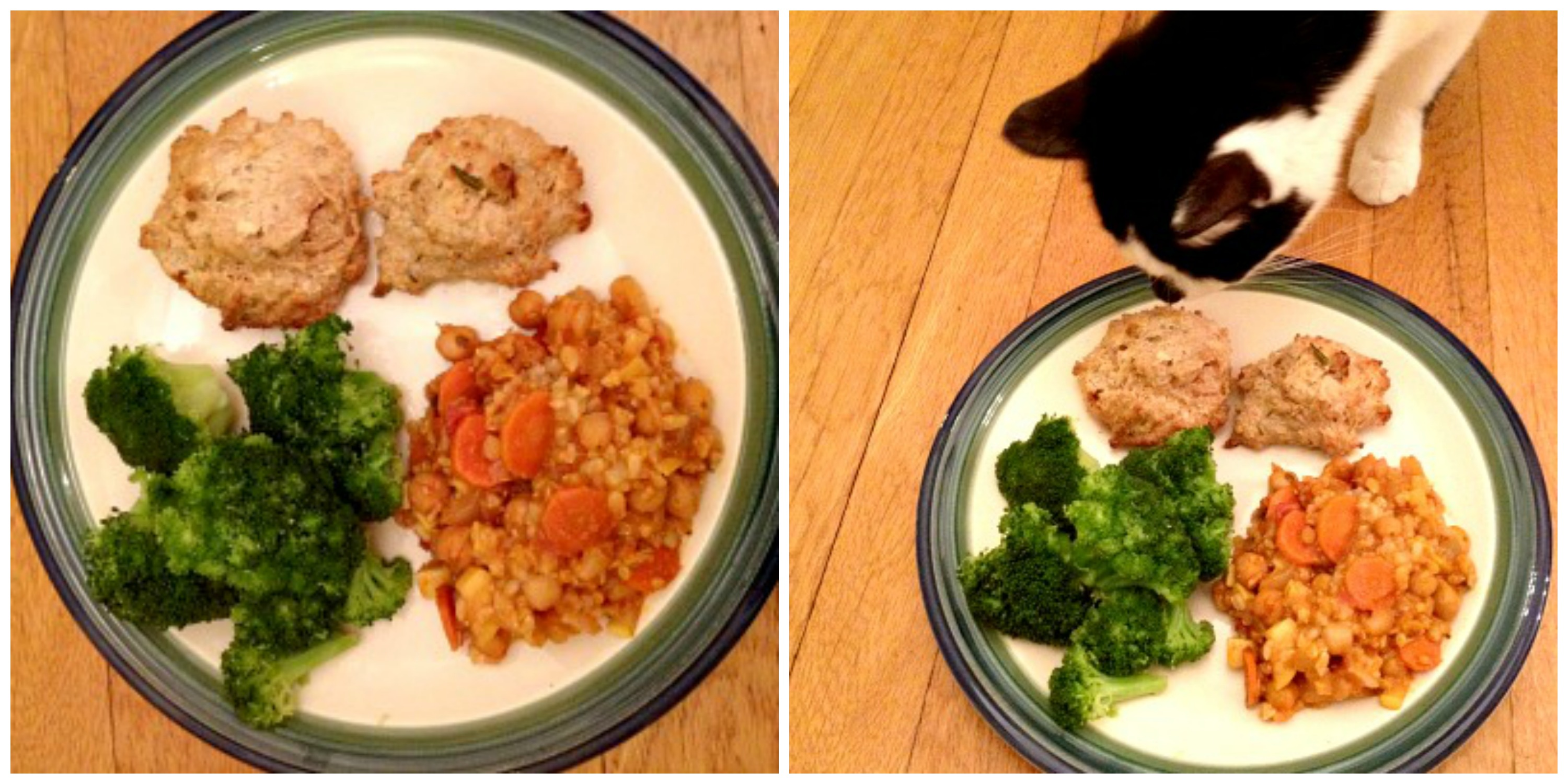 No Kitty, this is my pot pie.