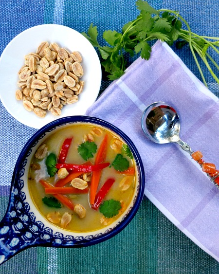 Thai Inspired Vegetable Soup