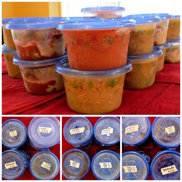 Freezer Soup Collage