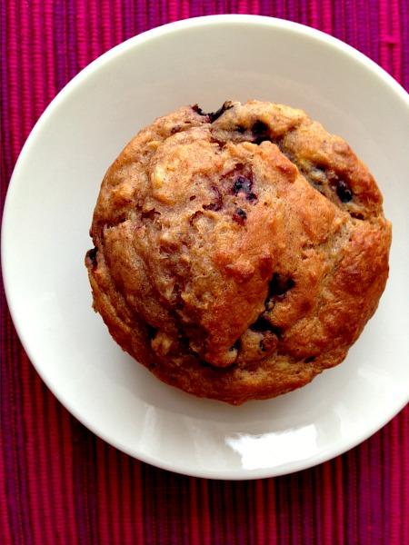 Acorn Squash Blackberry Buttermilk Soaked Oat Muffins