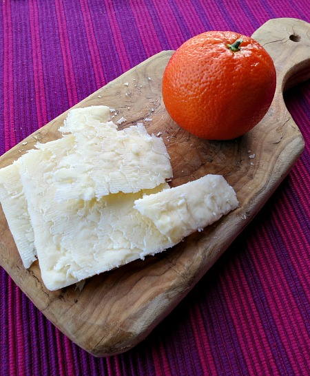Cheddar Cheese and Clementine