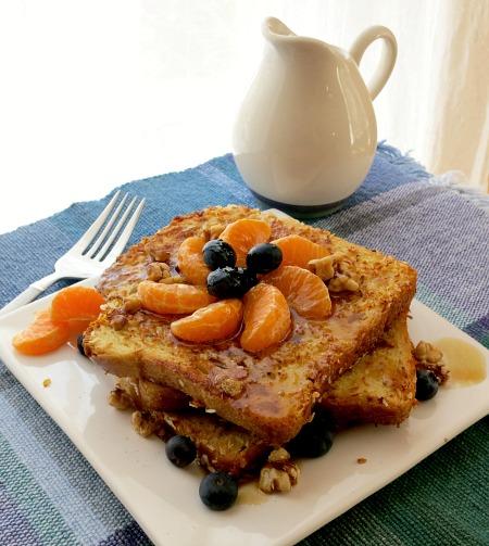 Coconut Orange Blueberry French Toast B
