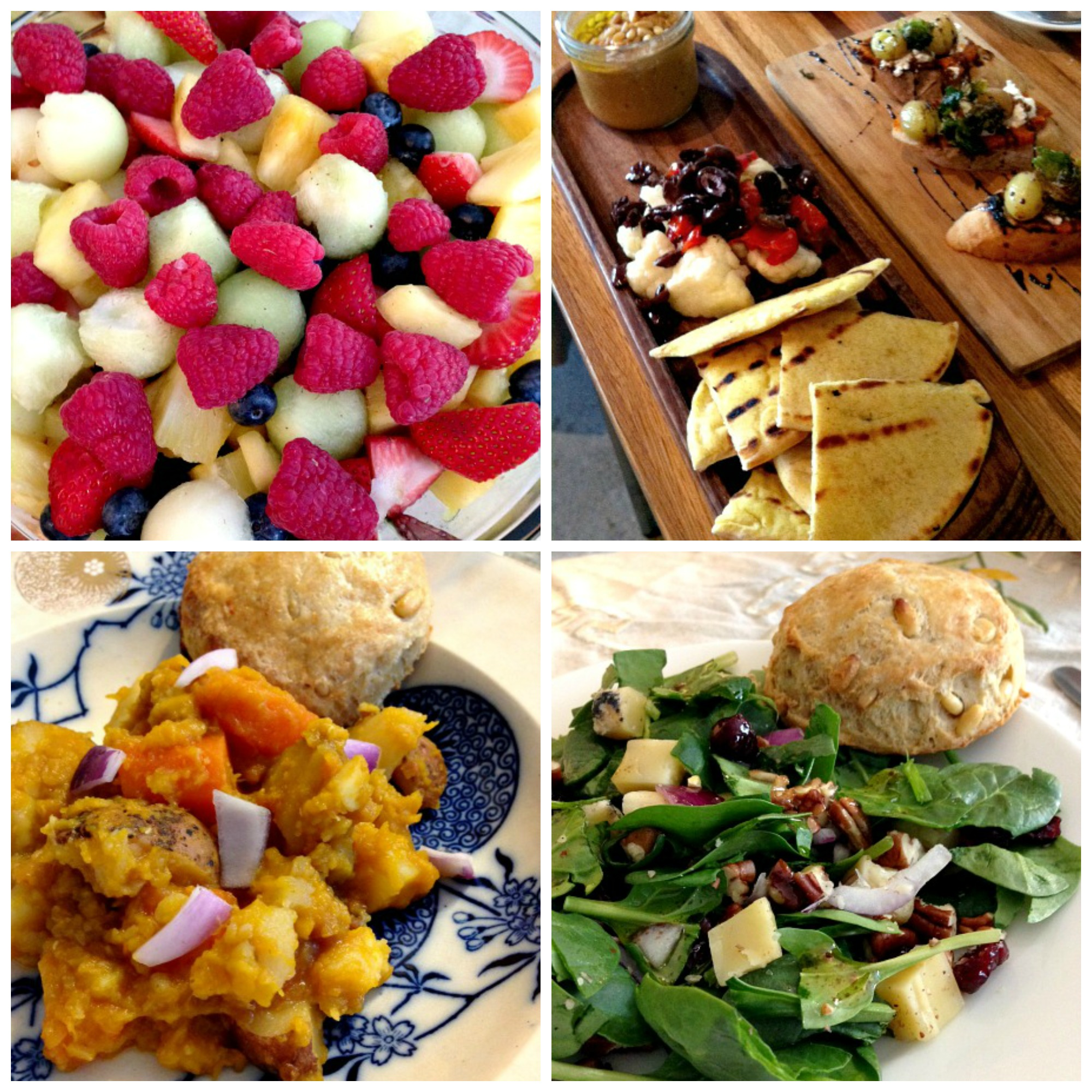 Last Week's Eats Collage