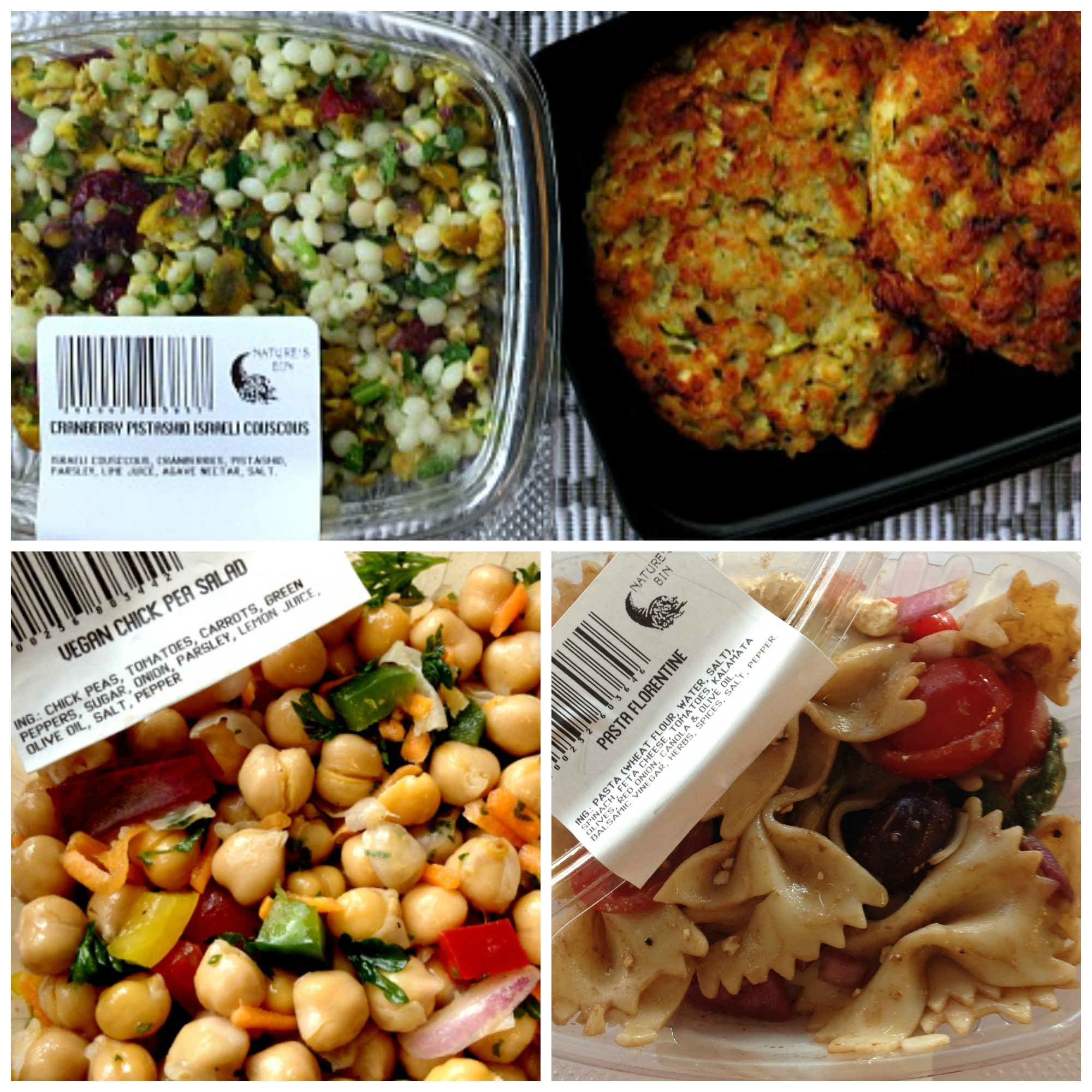 Nature's Bin Lunches B Collage
