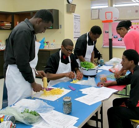 Ginn Academy Cooking Club 3