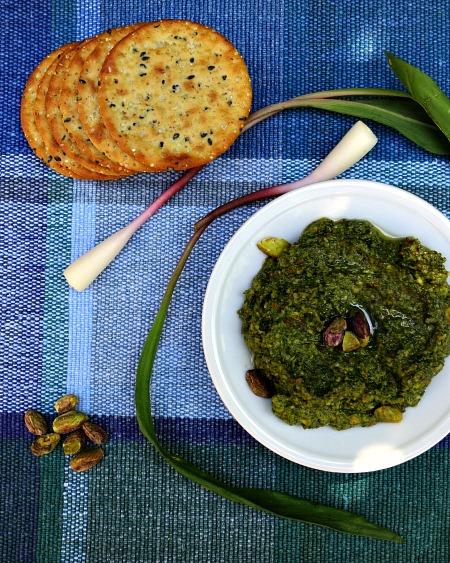 Pistachio Ramp Pesto