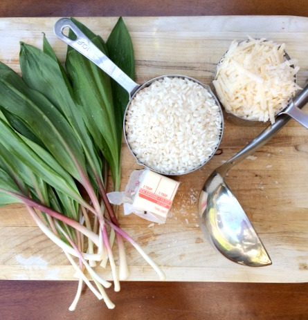 Ramp Risotto Ingredients