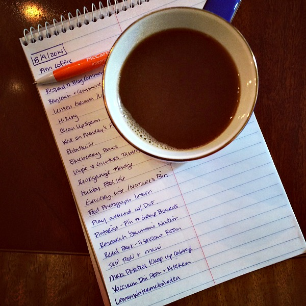 August 9, 2014 List