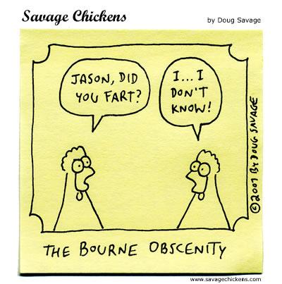 chickenbourne Fart Jokes