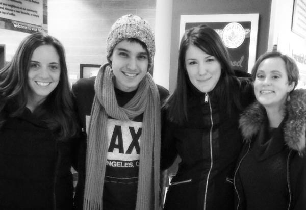 Christina, Arman, Amanda and Meg