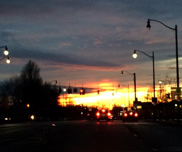 Buffalo Sunset