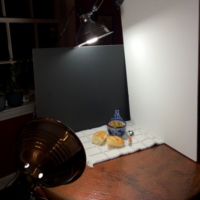 Night Lighting for Food Photography
