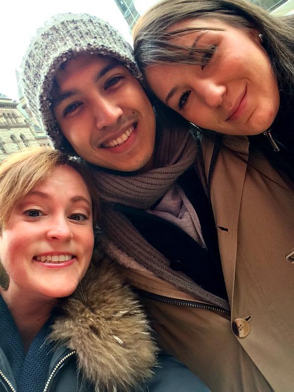 Arman, Amanda and Meg