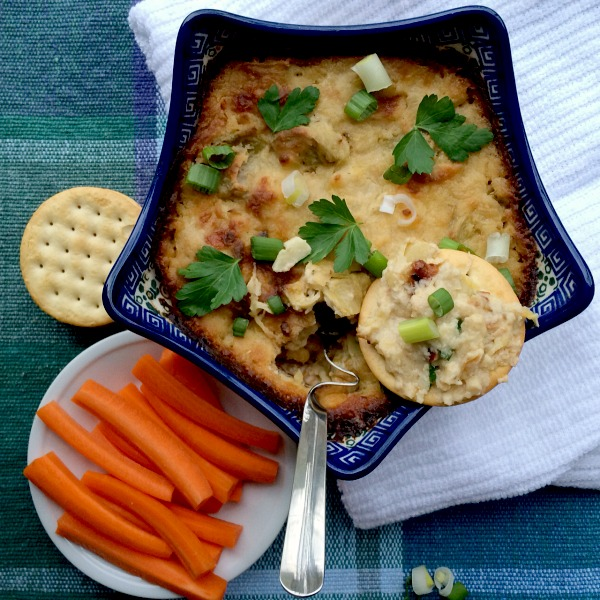 Artichoke & Cheese White Bean Dip