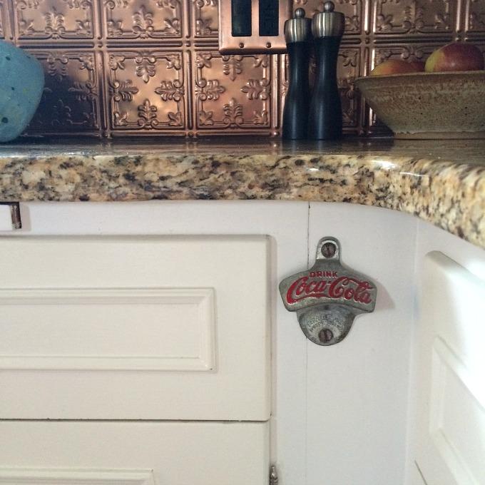 Coca Cola Opener in Kitchen
