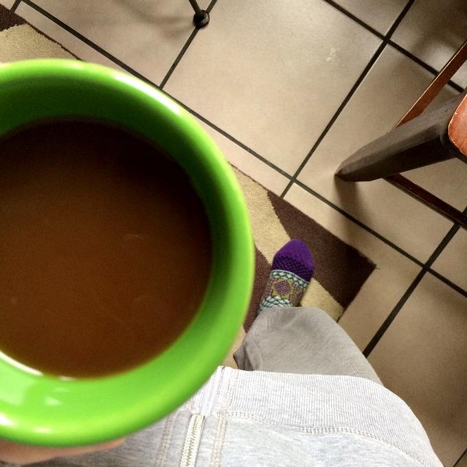 Coffee, Sweats and Socks