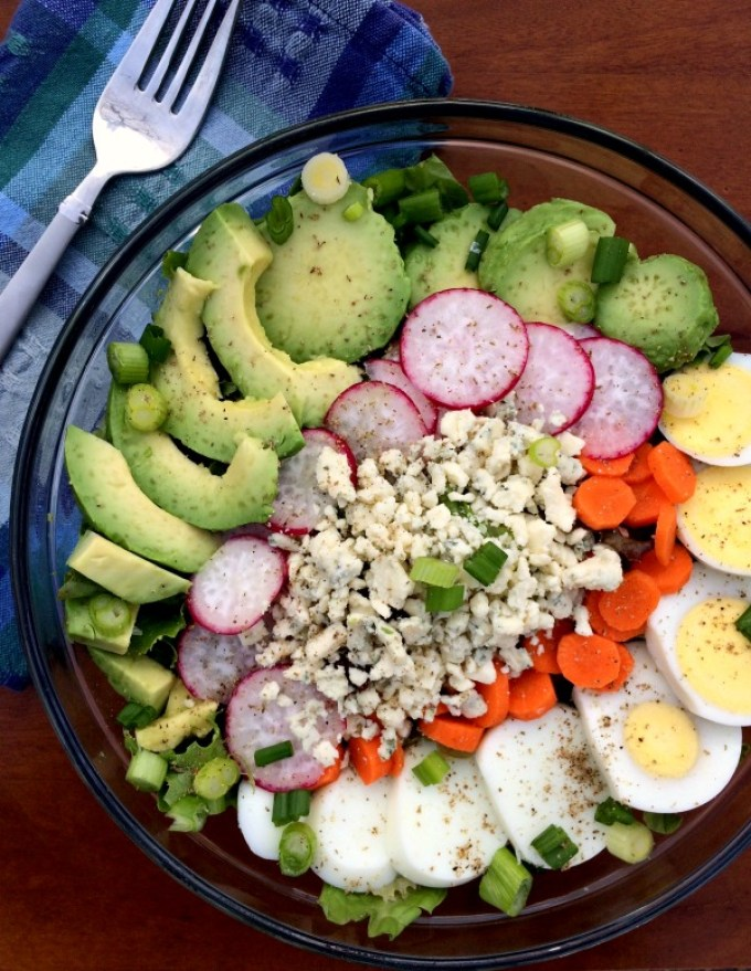 Vegetarian Cobb Salad Dec 2014