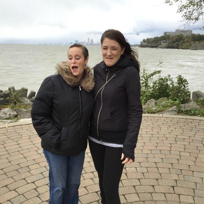 Meg and Amanda Spoons Windstorm
