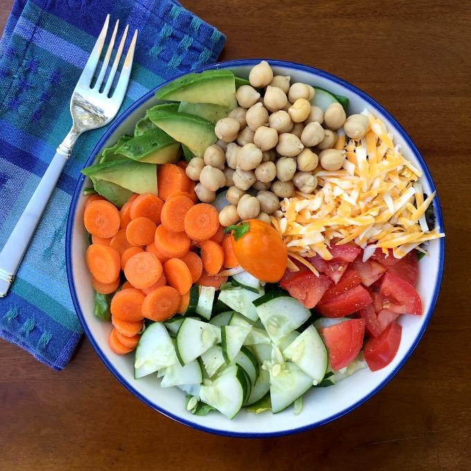 Sectional Salad