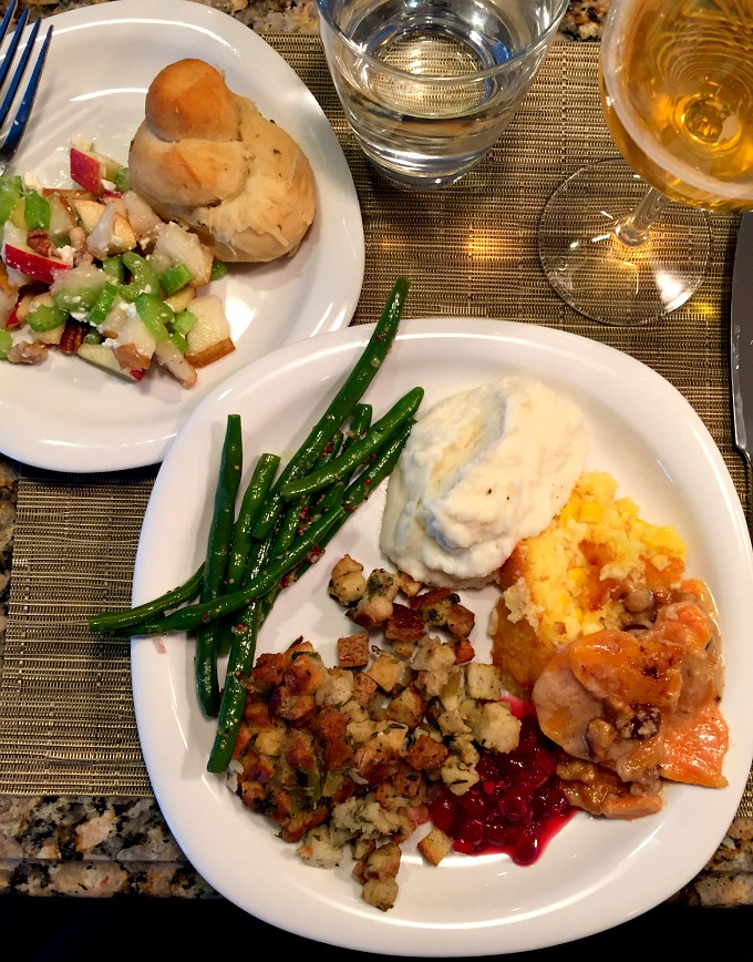 Thanksgiving 2015 - My Plate