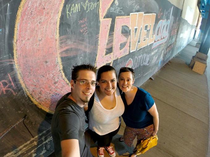 Stefan, Juli and Meg
