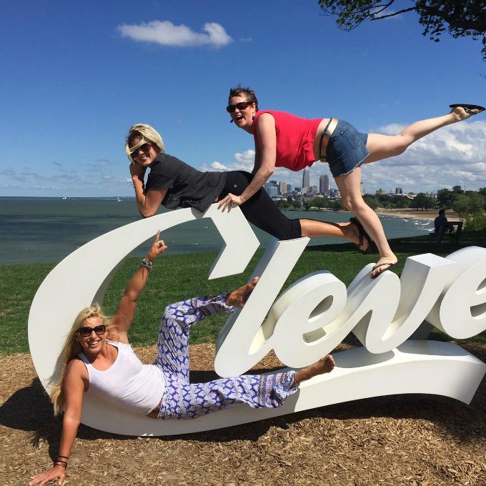 Lucie, Laura & Meg - Summer 2016 - Cleveland