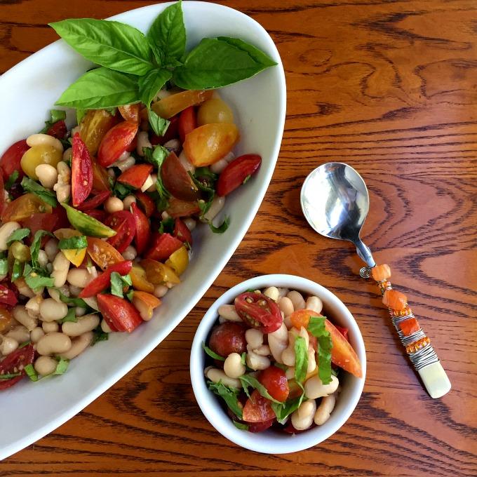 tomato-white-bean-salad