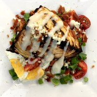Healthy and Heavenly Grilled Cabbage Wedge Salad